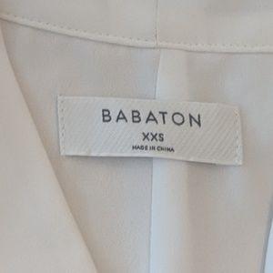 Aritzia Tops - Aritzia Babaton XXS White Blouse Tie